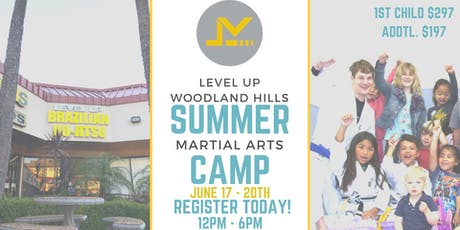 Kids SUMMER CAMP in Woodland Hills - Martial Arts, Learning & FUN!! tickets