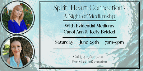 SPIRIT HEART CONNECTIONS - A NIGHT OF MEDIUMSHIP tickets