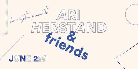 Ari Herstand + Friends tickets