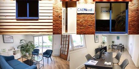 Inauguration des nouveaux locaux Caen Nord Immobilier billets