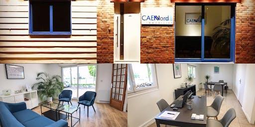 Inauguration des nouveaux locaux Caen Nord Immobilier