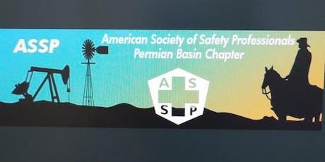 June Permian Basin ASSP meeting tickets