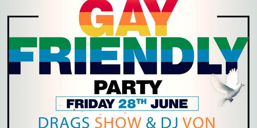 GAY FRIENDLY PARTY