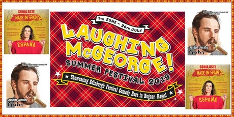 Laughing McGeorge Comedy Festival - Sonia Aste & Joe Jacobs tickets