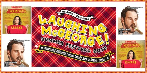 Laughing McGeorge Comedy Festival - Sonia Aste & Joe Jacobs