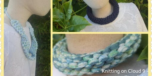Knit a Necklace - Creative Craft Trail for Sma Shot Paisley PM Session