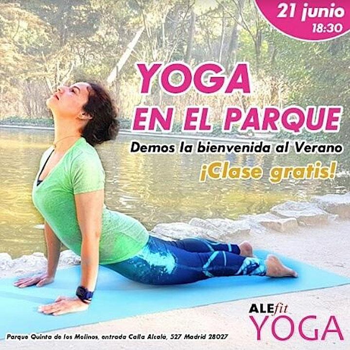 Imagen de ¡YOGA EN EL PARQUE!
