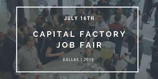 Capital Factory 2019 Job Fair - DALLAS