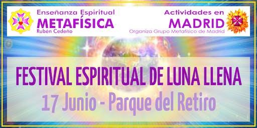 Festival Espiritual de Luna Llena en Madrid