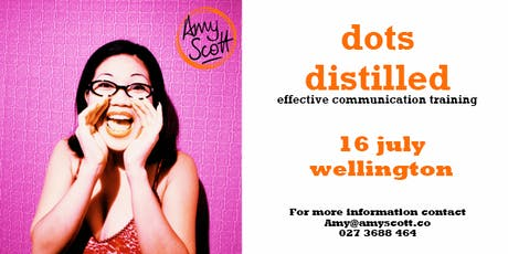 dots distilled: effective communication training (Wellington) tickets