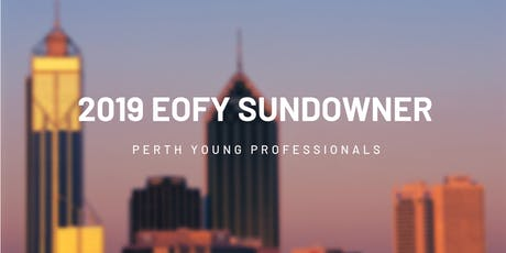 PerthYP 2019 EOFY Sundowner tickets