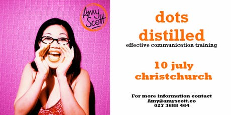 dots distilled: effective communication training (Christchurch) tickets