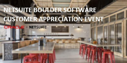 NetSuite Boulder Software Customer Appreciation Night