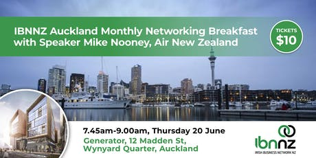 Networking Breakfast Series  IBNNZ Auckland tickets