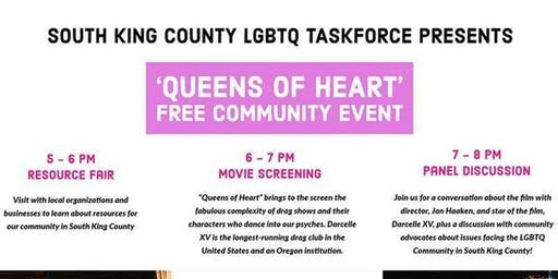 Queens of Heart Community Film Screening Event