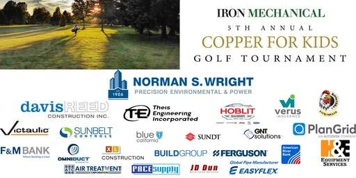 Iron Mechanical's 5th annual Copper for Kids Golf Tournament