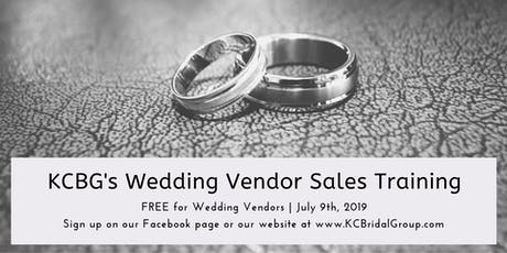 KCBG Wedding Vendor Sales Training tickets