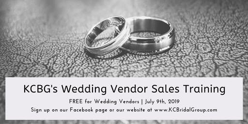 KCBG Wedding Vendor Sales Training