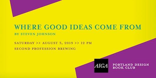 AIGA Portland Design Book Club, August 2019