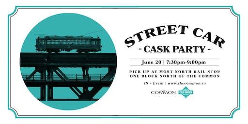 Cold Garden Brewing Street Car Cask Event