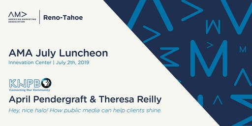 AMA July Lunch: Public Media Making Clients Shine
