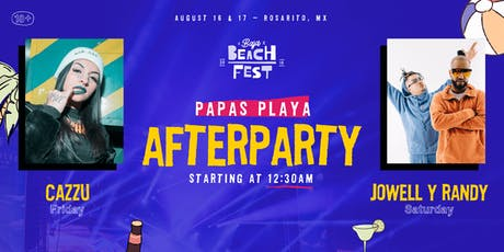 Papas Playa Afterparty boletos