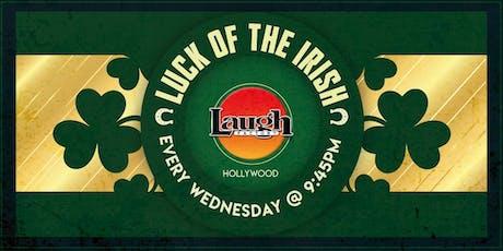 Luck of the Irish tickets