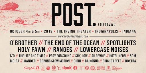 Post. Festival 2019