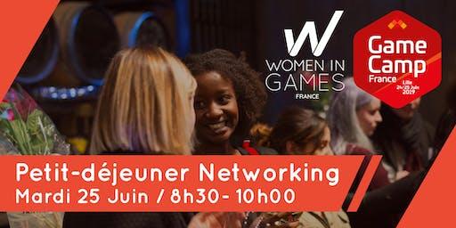 Petit-déjeuner networking Women in Games & GameCamp