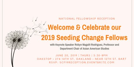Seeding Change Fellowship 2019 Reception  tickets