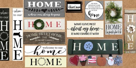 CLASSIC HOME SIGNS   tickets