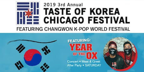 3rd Annual Taste of Korea Chicago Festival tickets