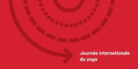 Journey internationale de Yoga tickets
