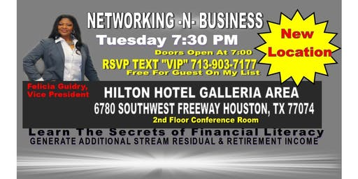 Networking Business Opportunity-Felicia Guidry