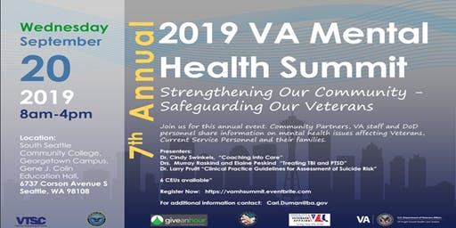 Seventh Annual VA Mental Health Summit