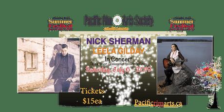Nick Sherman - Leela Gilday in concert tickets
