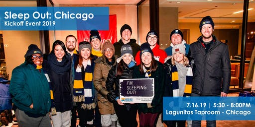 Sleep Out: Chicago Kickoff Event