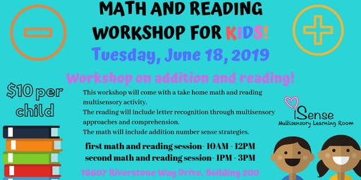 Math and Reading Workshop for Kids