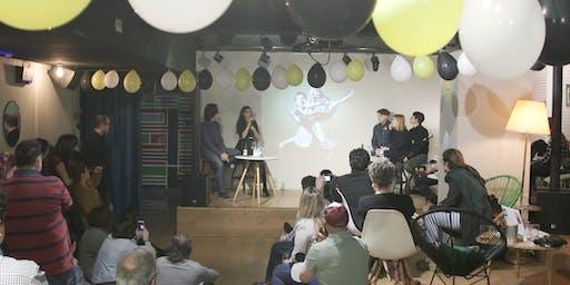Proyecciones multimedia del BasqueDokFestival 2019.