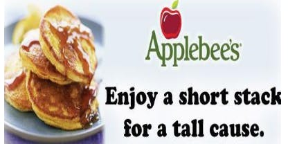 Short Stacks For A TALL CAUSE - Applebee's All You Can Eat Pancake Breakfast