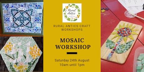 Half Day Mosaic Workshop tickets