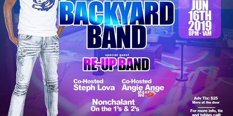 The Father's Day Affair Feat. BackYard Band & ReUp Band at POWER NIGHTCLUB tickets