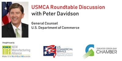 Green Bay USMCA Roundtable with Peter Davidson, US Dept of Commerce