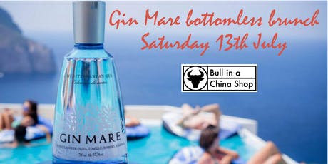 Gin Mare bottomless brunch & cocktail masterclass 17 August & 14 September tickets