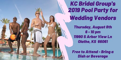 2019 KCBG Pool Party for Wedding Vendors