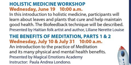Wellness Wednesdays - Holistic Medicine Workshop tickets