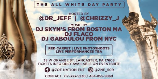 Pure Afro Island VYBZ - ALL WHITE DAY PARTY