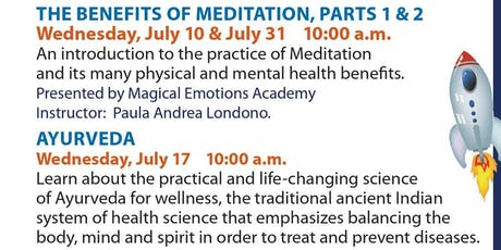 Wellness Wednesdays - The Benefits of Meditation, Part 1 tickets