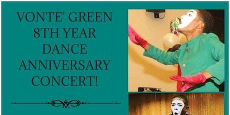 Vonte' Green's 8th Year Mime Anniversary Celebration tickets