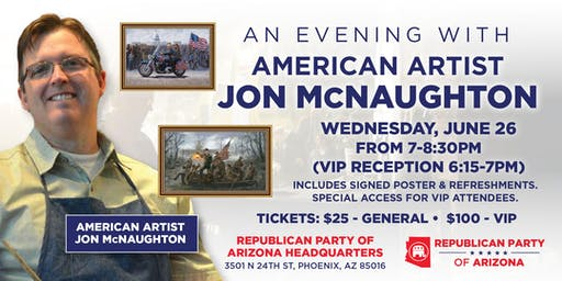 An Evening With American Artist Jon McNaughton